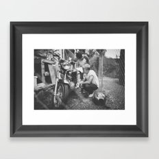 Mumbercycle Framed Art Print