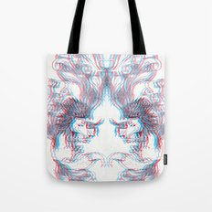 3D Fox Tote Bag