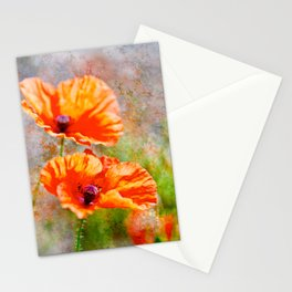 Wild poppies. Stationery Cards