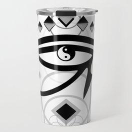 Eye Of Horus (Yin Yang Crest) - 2 Travel Mug
