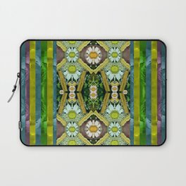 Bread sticks and fantasy flowers in a rainbow Laptop Sleeve