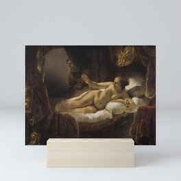 "Rembrandt Harmenszoon van Rijn, ""Danae"", 1636 Mini Art Print"