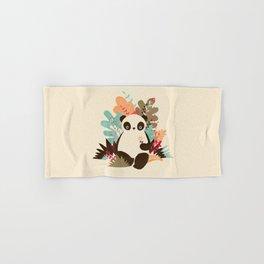 Flower Panda Hand & Bath Towel