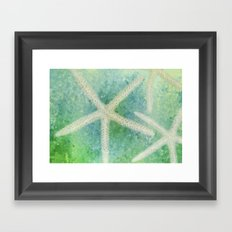 Seastars Framed Art Print