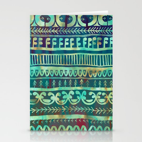 Noni- Green Stationery Cards