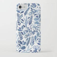 indigo scatter iPhone 7 Slim Case