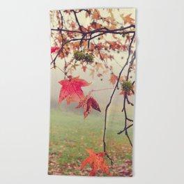 Autumn Dreams Beach Towel