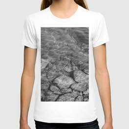 Under Water (Black and White) T-shirt