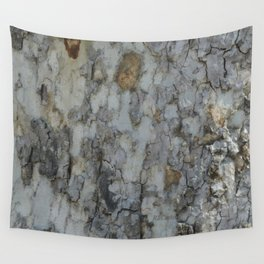 TEXTURES -- California Sycamore Bark Wall Tapestry