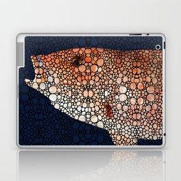 Red Grouper Fish - Florida Art By Sharon Cummings Laptop & iPad Skin