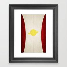 Saturn Girl Framed Art Print