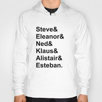 steve zissou Hoodies featuring Team Zissou by Summie520