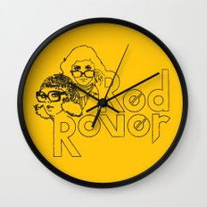 Red Rover Wall Clock
