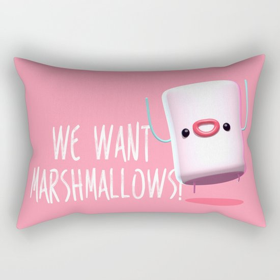 What do we want?? Rectangular Pillow
