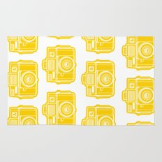 I Still Shoot Film Holga Logo - Sunshine Yellow Rug