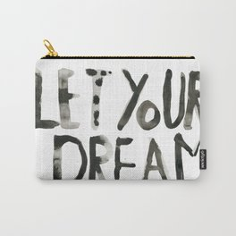 Handwritten inspirational quote Carry-All Pouch