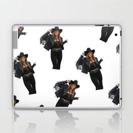 Vintage Cowgirl Laptop & iPad Skin
