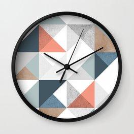 Modern Geometric 10 Wall Clock