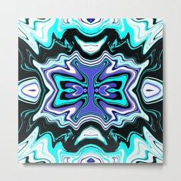 Fluid Abstract 04 Metal Print