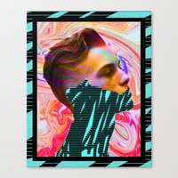 tyler spangler Canvas Prints featuring DAVID MARINOS x TYLER SPANGLER by David Marinos