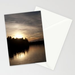 Northern Sunset 004 Stationery Cards