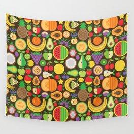 Fruit Patten Wall Tapestry