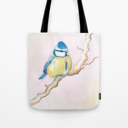 Resting Bird Tote Bag