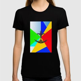 The Anchor Stripes Colorful T-shirt