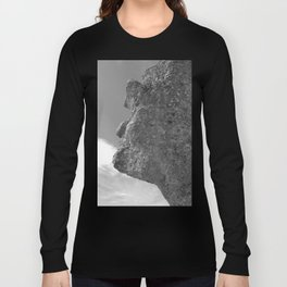 SHAPE OF A FACE STONE Long Sleeve T-shirt
