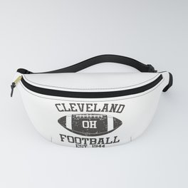 Cleveland Football Fan Gift Present Idea Fanny Pack