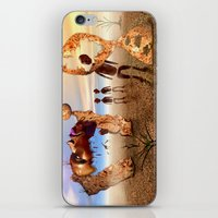 africa iPhone & iPod Skins featuring Africa by teddynash