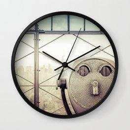 New York City Summer Wall Clock