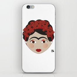 FRIDA KAHLO RED iPhone Skin