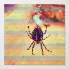 Radioactive spider Canvas Print