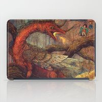 smaug iPad Cases featuring Dragons Lair by Angela Rizza