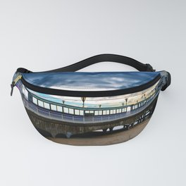 Bournemouth Pier And Beach Dorset Fanny Pack
