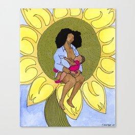Icons of American Motherhood Canvas Print