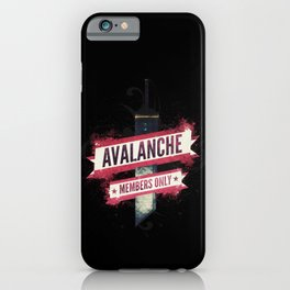 Final Fantasy VII - Avalanche Member's Only iPhone Case