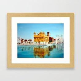 The Golden Temple Framed Art Print