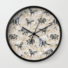 Rocksaurs Wall Clock
