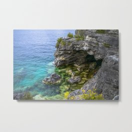 The Grotto Metal Print