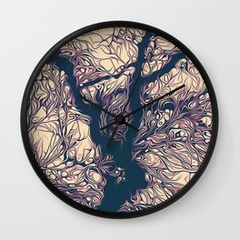 treeflex Wall Clock