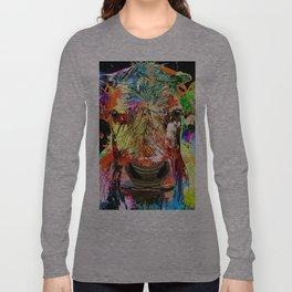 Cow Grunge Long Sleeve T-shirt