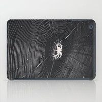 spider iPad Cases featuring Spider by LadyJennD