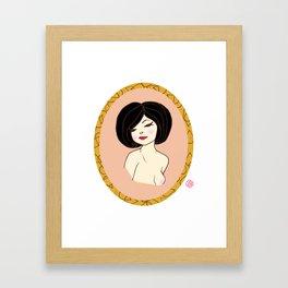 Valentine Pinup 4 Framed Art Print