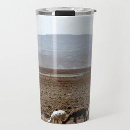 Line of Llamas Travel Mug
