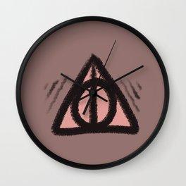 hallows symbol Wall Clock