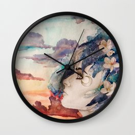 The Lost Love of Wandering Aengus Wall Clock