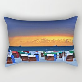BEFORE THE STORM on the Baltic Sea Rectangular Pillow