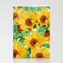 sunflower pattern by colorandcolor